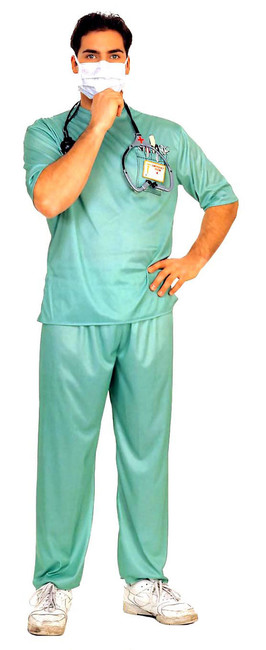 ER Doctor Green Costume