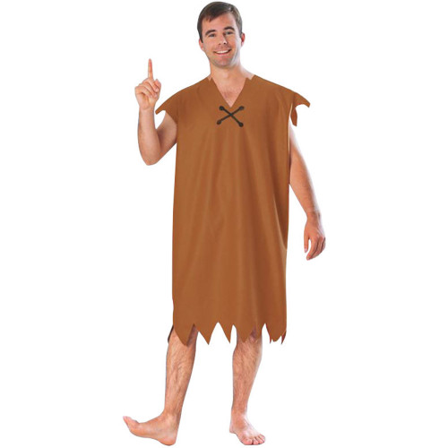 Barney Rubble Adult Flintstones Costume Extra Large