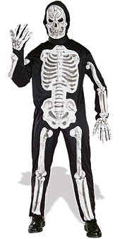 Eva Halloween skeleton costumes