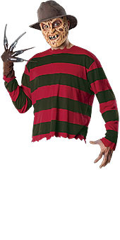 Freddy Krueger Costume, Adult Set - Nightmare on Elm Street Halloween Costume