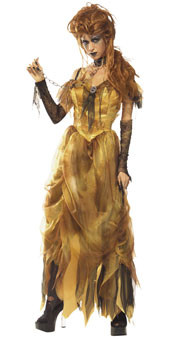 Gothic Hell's Belle Costume Adult Halloween Costume