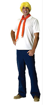 Fred Costume, Adult Scooby-Doo - Classic Halloween Costume 2010