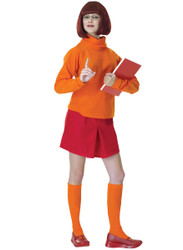 Velma Costume, Adult Scooby-Doo - Classic Halloween Costume 2010