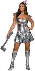 Plus Size Tin Woman Costume
