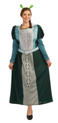 Princess Fiona Costume Adult Plus Size Dress