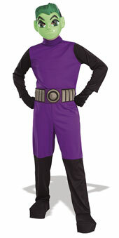 Beast Boy Costume, Kids Teen Titans