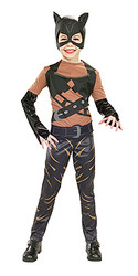 Catwoman Child Girls Superhero -  Halloween Costume