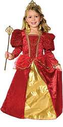 Child Ruby Queen Costume
