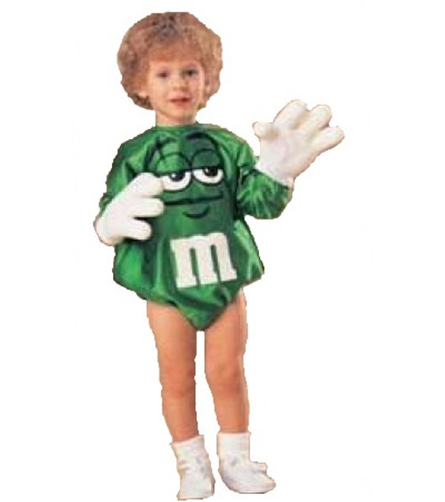 Child's Green M&M Costume