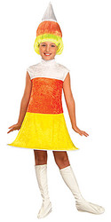 Candi Korn Costume, Child Fancy Dress