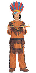 Indian Costume, Boys Small Native American