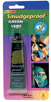Smudge Proof Green Cream Halloween Make-up