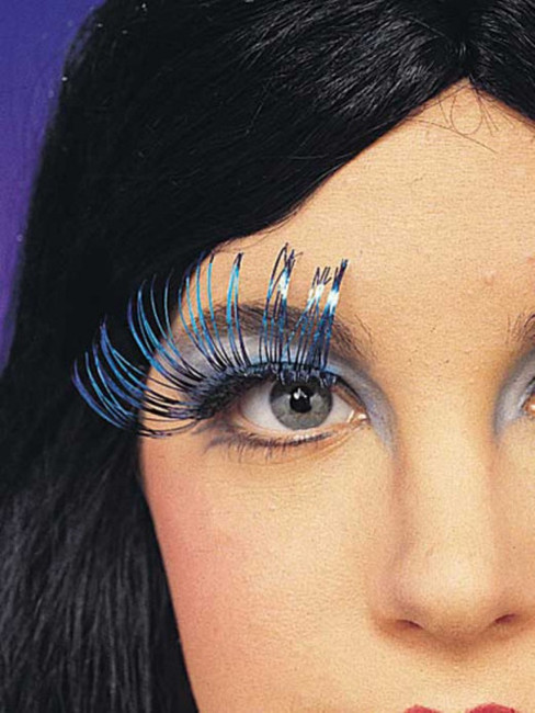 Long Metallic False Eyelashes
