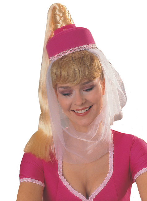 Jeannie Hat and Hair piece