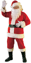 Santa Claus Extra Large Costume
