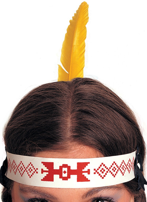 Native American Indian Feathered Headdress