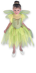 Cute Tinkerbell Costume, Child Dress