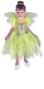 Cute Tinkerbell Costume Child Dress