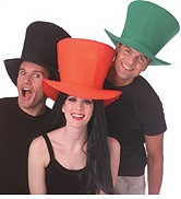 Foam Fabric Top Hat