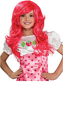 Strawberry Shortcake Hair Wig