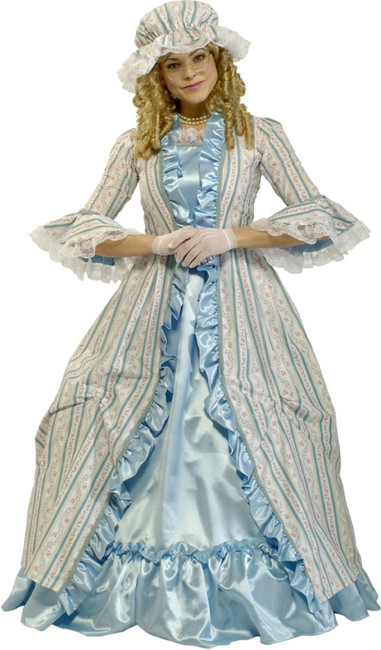 Martha Washington Costume Adult Historical Dress