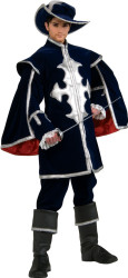 Musketeer Costume Adult QualityHalloween Costume