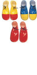 clown costumes Shoe Covers