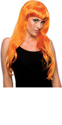 Orange Glamour Hair wigs