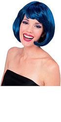 Super Model Blue Hair Wig