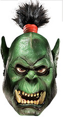 World of Warcraft Orc Overhead Latex Mask - New for 2010 Halloween