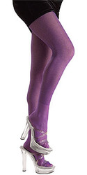 Purple Glitter Tights