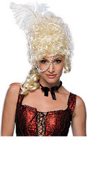 Blonde 19th Century Show Girl Hair Wig