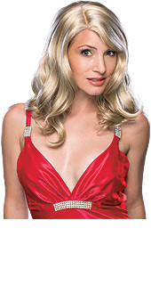 Blonde Classic Long Wavy Hair Wig
