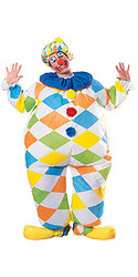 Inflatable clown Adult  Halloween Costume