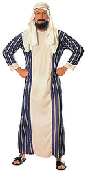 Arab Sheik Costume, Adult Arabian Robe & Headpiece