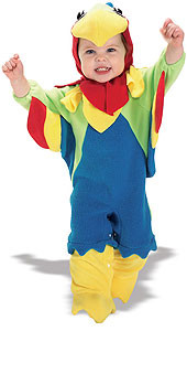 Baby Parrot Costume, Newborn and Infant