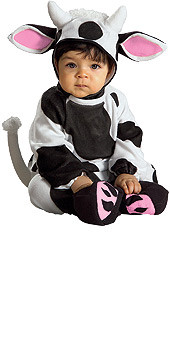 Baby Cozy Cow Infant Costume