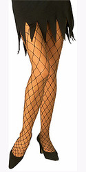 Black Diamond Net Hosiery