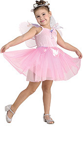 Child Pretty Pink Fairy Costume