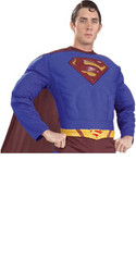 Superman Adult Yellow Injection Molded Belt