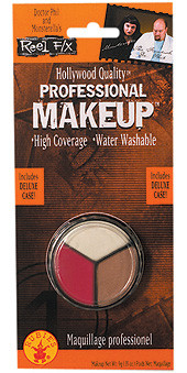 Professional White Flesh and Red halloween makeup