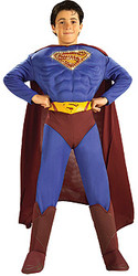 Superman Costume, Kids Fiber Optic Superhero