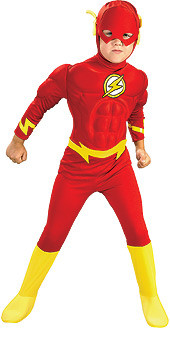 The Flash Costume, Boys Muscle Chest