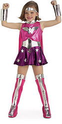 Pink Wonder Woman Costume