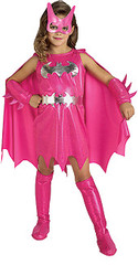 Pink Batgirl Child Superhero Costume