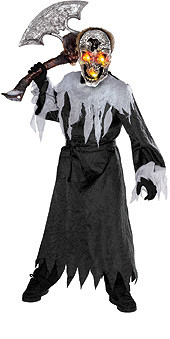 Boys Silver Ghost Costume