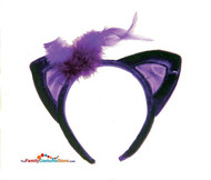 Purple Devil Headband & Tail Set