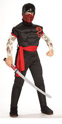 Deluxe Ninja Warrior Costume