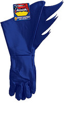 Batman Gloves Adult Blue Gauntlets