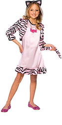 Pink Cat Bratz Costume, Child - Fancy Halloween Costume